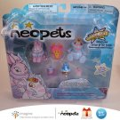 Neopets Series 1 Collector Figure Pack Faerie Cybunny Striped Elephante & Pink Ona Petpet 2008 New