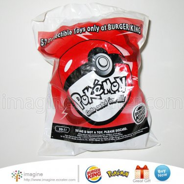 Burger King Pokemon Nidoran Launcher Toy Figure w/ Pokeball MIB # 39-11 ©1999 Nintendo Lot Listed!