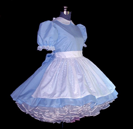 Blue Gingham Alice Dress