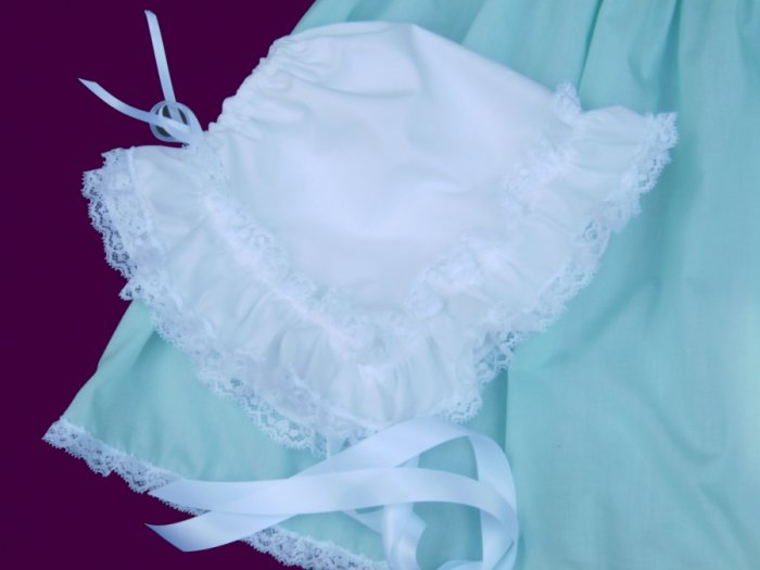 Adult Sissy Baby Dress~3 pc~Mint