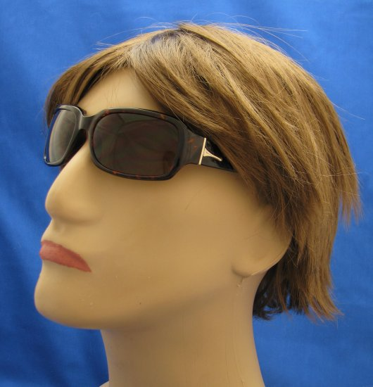 624RDBT-200 READING SUNGLASSES TINTED SUN READERS DARK BROWN TORTOISE PLASTIC FRAME +2.00 BIFOCAL