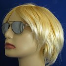 R1025BM-200 READING SUNGLASSES TINTED READERS PEWTER COLORED METAL FRAME +2.00 BIFOCAL