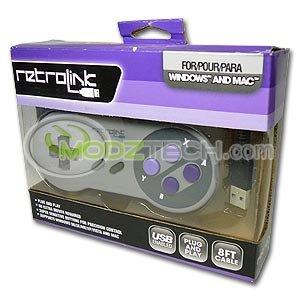 Super Nintendo SNES USB to PC / MAC Classic Controller Pad