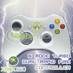 6 MODE XBOX 360 RAPID FIRE CONTROLLER / 360 TURBO CONTROLLER