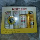Burts Bees travel set Head to Toe Kit with salve 6pc
