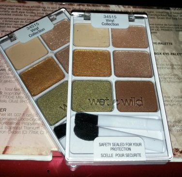 Wet n Wild palette 34515 Vinyl Collection Silver Lake spring LE