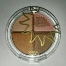 Wear Infinite eye shadow quad Bronze Bliss 827 Loreal