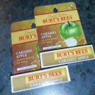 Burts Bees lip balm Caramel Apple Ltd Edition PAIR