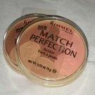 Rimmel Match Perfection blush palette 004 Medium Dark Matte