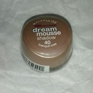 Maybelline Dream Mousse shadow 40 Tranquil Rose discontinued