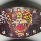 Don.Ed Hardy Leather Bracelet (Tiger)
