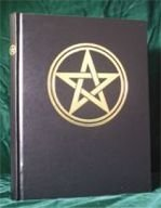 Blank Black Book of Shadows: Pentagram New Witchcraft