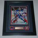 Henrik Lundqvist New York Rangers Signed Framed