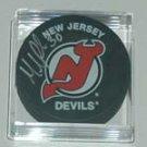 Martin Brodeur New Jersey Devils Auto Puck