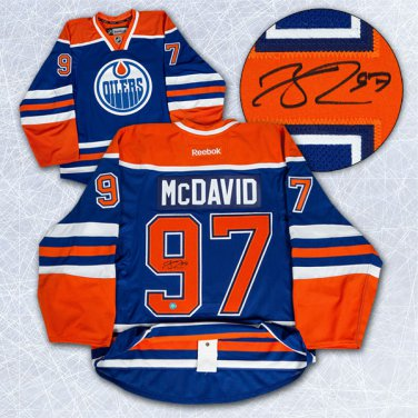 Connor McDavid Edmonton Oilers Auto Jersey