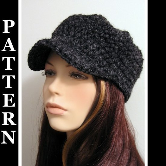 The Christie Cap - crochet ePattern