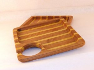 wine and cheese tray multi stripped