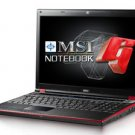 MSI GX620 Core2Duo Gaming Laptop