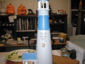 Lighted Lighthouse
