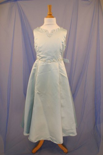 Handmade Satin Bodice With Pearl Accents