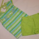 2 Pc Toddler Girl Short Set