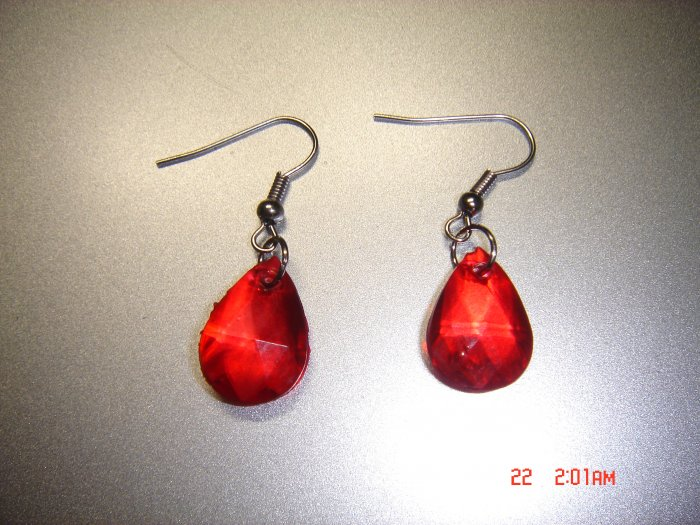 Fashion Handmade Acrylic Teardrop Earrings ON SALE 2009**FREE SHIP