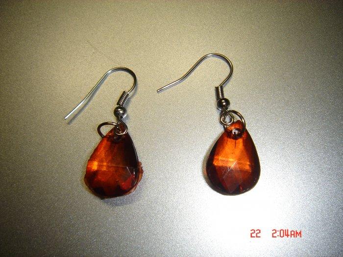 Fashion Handmade Acrylic Teardrop Earrings ON SALE 2009**FREE SHIP