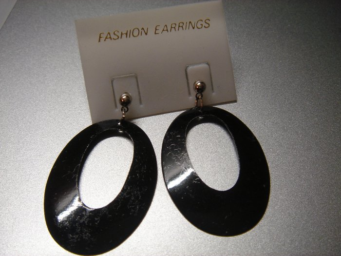 Rentangle Oval Round  Dangle Earring w/FREE Silver Foil Gift Box and Packaging