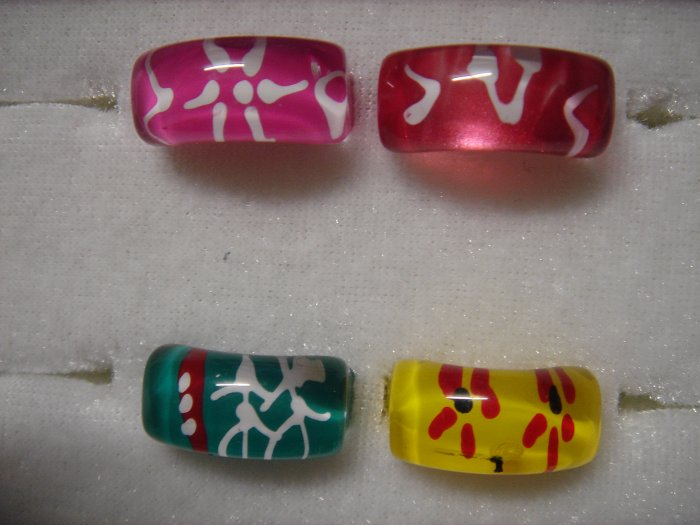 4 Fashion Handmade Transparent Rings