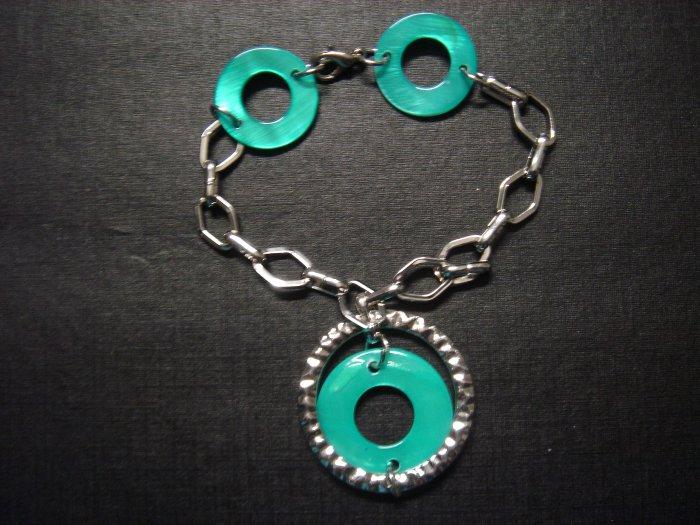 Handmade Round Disk Bracelet ~ON SALE