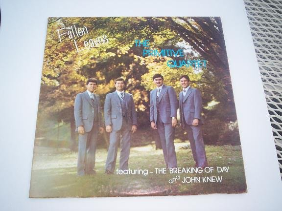 THE PRIMITIVE QUARTET Fallen Leaves LP Record Gospel Album