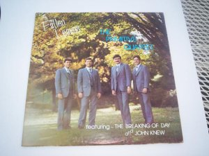 THE PRIMITIVE QUARTET Fallen Leaves LP Record Gospel Album