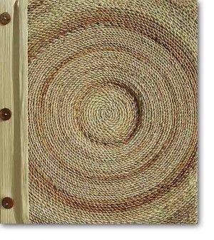 Leaf Photo Album from Bali-Rope #72-Large Size