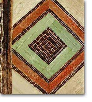 Leaf Photo Album from Bali-Geometric #41-Large Size