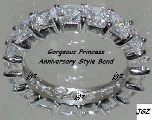1.25ct Anniversary-Eternity Band* Sz 5/6/7/8/9* Absolutely Gorgeous & Elegant *