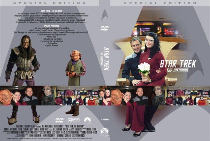 Star Trek: The Experience WEDDING DVD Las vegas Hilton rare collectible exclusive
