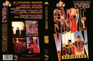 Thompson Twins - SINGLE VISION REVISITED complete MUSIC VIDEO collection DVD