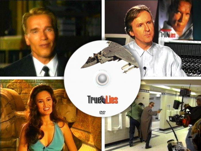 True Lies - James Cameron PRESS KIT & TV PROMOS DVD