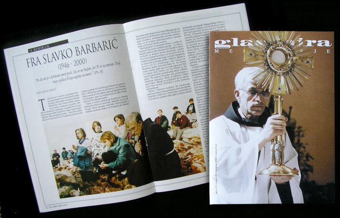 Medjugorje magazine Fr. SLAVKO BARBARIC exclusive - LAST ISSUE!