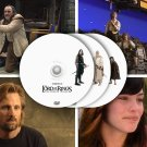 Lord of the Rings - PRESS KIT videos & photos, 3 DVDs unreleased extras, Peter Jackson