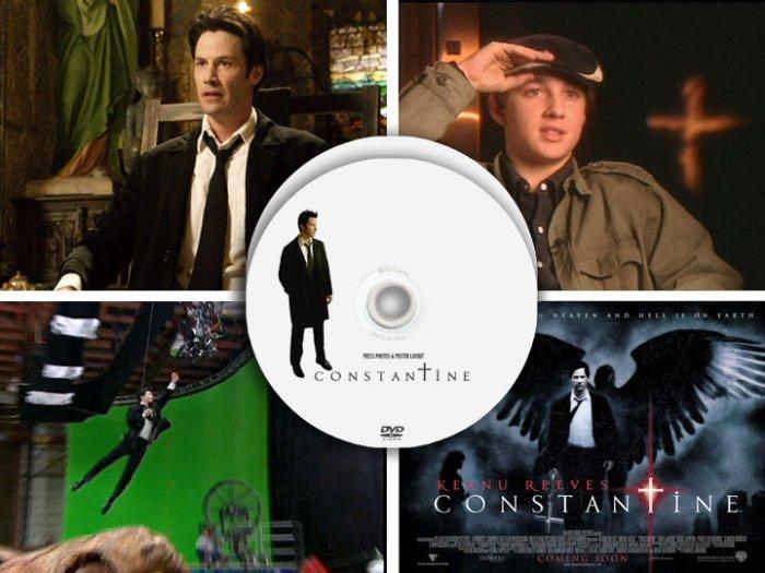 Constantine PRESS KIT DVD + 7 PROMO Photo & Poster CDs