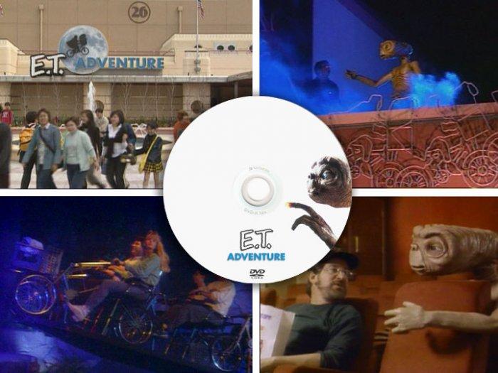E.T. Adventure PRESS KIT videos + Indiana Jones Disney