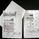 Gladiator STORYBOARDS (copies not original with) director's remarks & sketches Ridleygrams