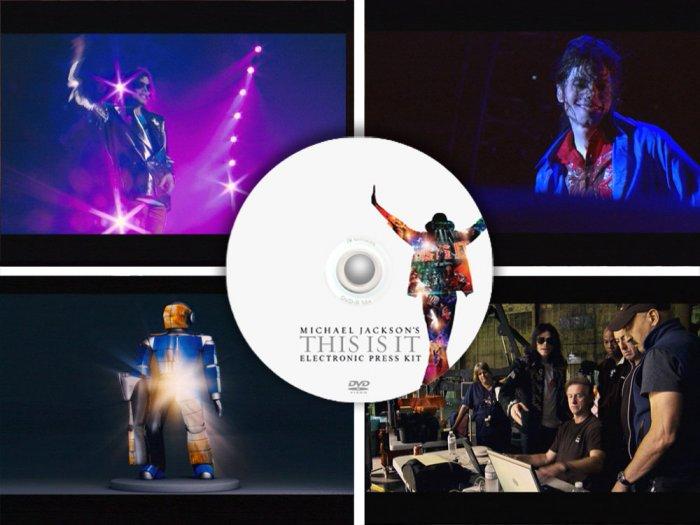 Michael Jackson This is it movie PRESS KIT promo DVD behind scenes interviews unreleased