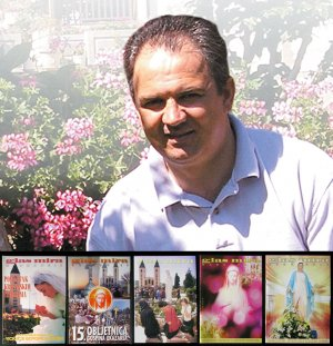 Glas Mira Medjugorje 5 Croatian magazines IVAN DRAGICEVIC visionary Gospa Our Lady exclusive