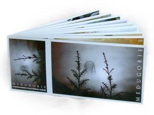 Medjugorje 9 rare deluxe POSTCARDS + bonus album!
