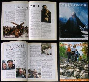 Glas Mira Medjugorje Croatian magazine PASSION OF CHRIST Jim Caviezel exclusive interview