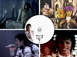 Michael Jackson CAPTAIN EO promo DVD compilation Disneyland ride documentary