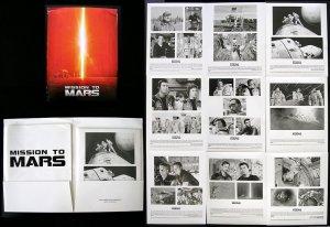 Mission to Mars - PRESS KIT and PHOTOS Brian De Palma