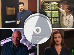 PROMO videos TV specials - Star Trek Next Generation TNG & Deep Space Nine DS9, 2 DVD set
